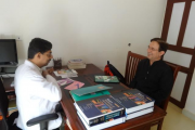 Mr. Arun Bhardwaj from Himachal Pradesh visits IAD